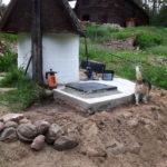 System Nawadniania - Piwnica na pompę przy studni