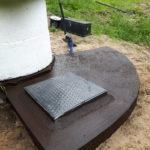 System Nawadniania - Piwnica na pompę - Izolacja stropu